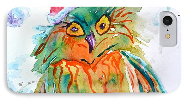Owlellujah IPhone Case by Beverley Harper Tinsley