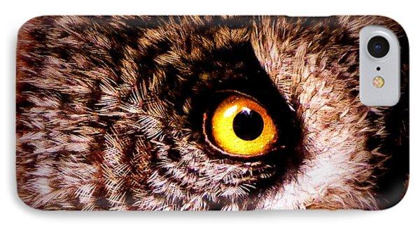 Owl's Eye IPhone Case