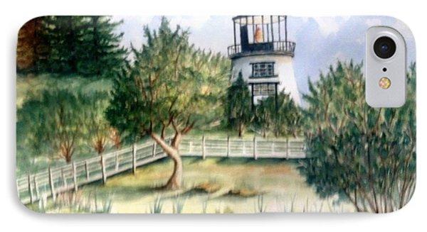 Owls Head Maine Lighthouse IPhone Case