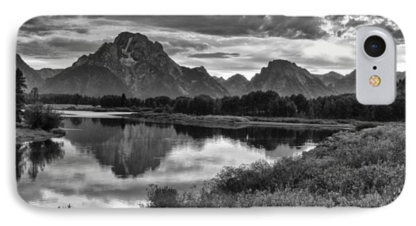Oxbow Bend Dramatics IPhone Case by Betty  Pauwels