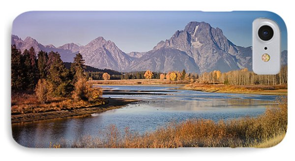 IPhone Case featuring the photograph Oxbow Bend by Janis Knight