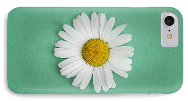 Oxeye Daisy Square Green IPhone Case