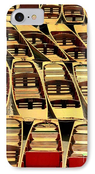 Oxford Punts IPhone Case by Linsey Williams