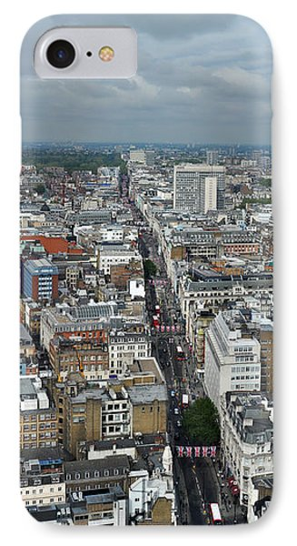 Oxford Street Vertical IPhone Case