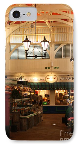 Oxford's Covered Market Phone Case by Terri Waters