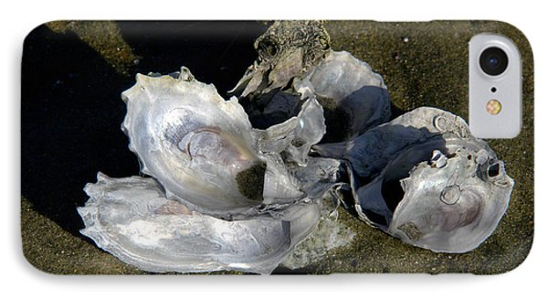Oyster Collage Phone Case by Michael Friedman