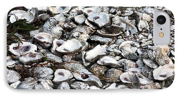 Oyster Shells Phone Case by John Rizzuto