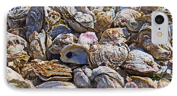 Oysters 02 Phone Case by Melissa Sherbon