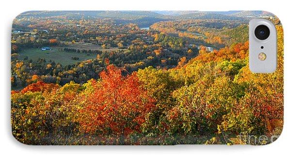 Ozark Autumn White River Valley - Arkansas/missouri Line Phone Case by Gerald MacLennon
