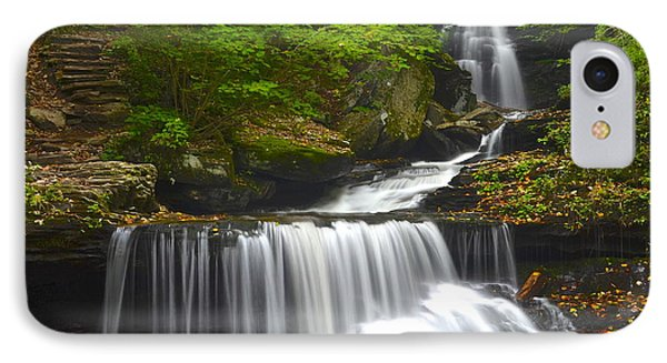Ozone Falls Phone Case by Frozen in Time Fine Art Photography