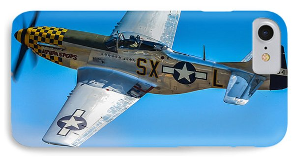 P-51 Mustang Break Out Roll Phone Case by Puget  Exposure