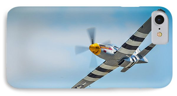 P-51 Mustang Low Pass Phone Case by Puget  Exposure
