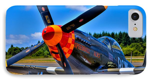 P-51 Mustang - Speedball Alice Phone Case by David Patterson