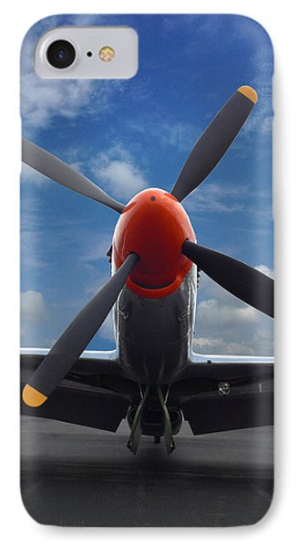 P-51 Ready For Flight IPhone Case