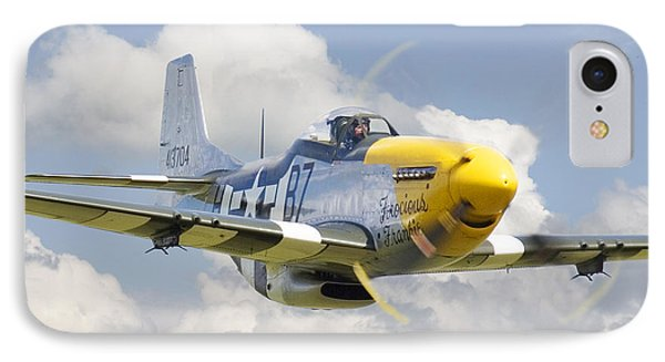 P51 Ferocious Frankie IPhone Case