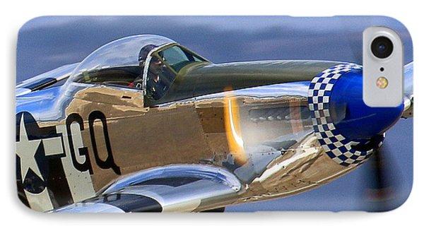 Grim Reaper P51 Mustang At Salinas Air Show IPhone Case