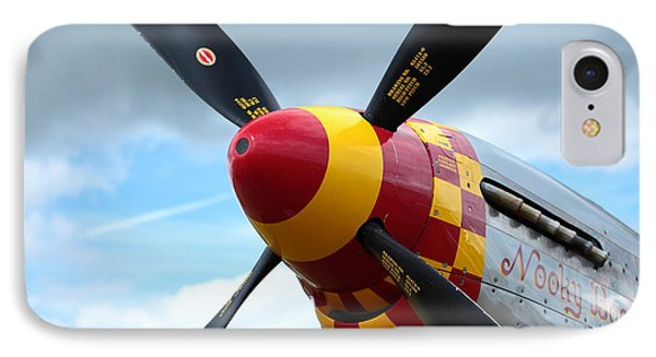 P51 Propeller Phone Case by Remy NININ