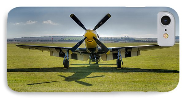 P51d Mustang Hdr IPhone Case by Gary Eason