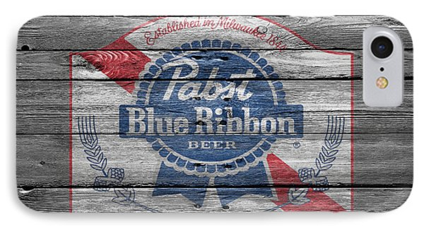 Pabst Blue Ribbon Beer IPhone Case by Joe Hamilton
