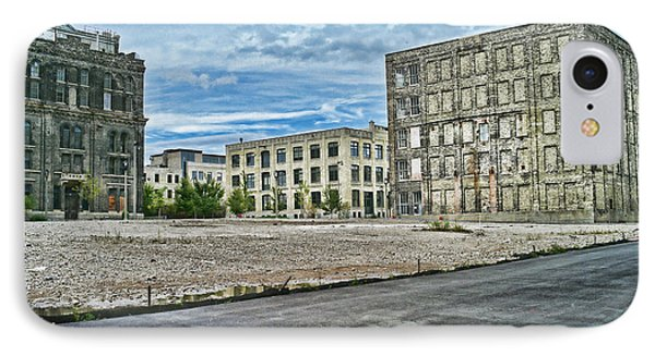 Pabst Brewery Abandonded Seen Better Days Pabst In Milwaukee Blue Ribbon Beer Phone Case by Lawrence Christopher
