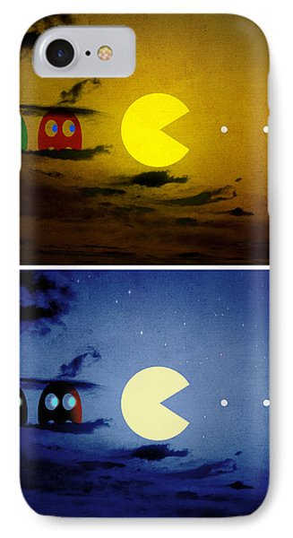Pac-scape Vertical Diptych IPhone Case by Filippo B