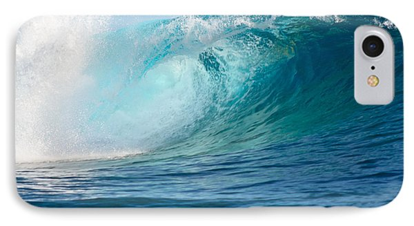 Pacific Big Wave Crashing IPhone Case by IPics Photography