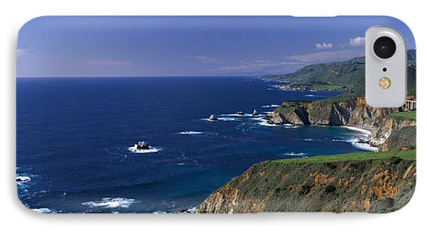 Pacific Coast, Big Sur, California, Usa IPhone Case by Panoramic Images