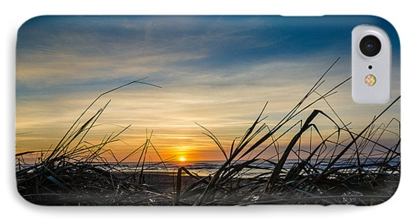 Pacific Coast Sunset Phone Case by Puget  Exposure