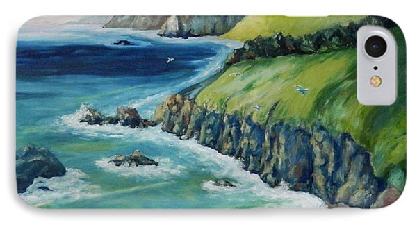 Pacific Coast IPhone Case by William Reed