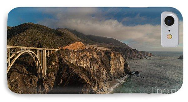 Pacific Coastal Highway IPhone Case by Mike Reid