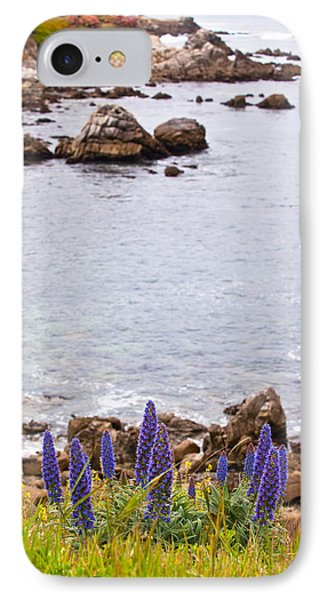 Pacific Grove Coastline IPhone Case by Melinda Ledsome