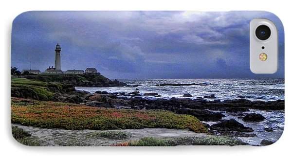 IPhone Case featuring the photograph Pacific Lighthouse by Kathy Churchman