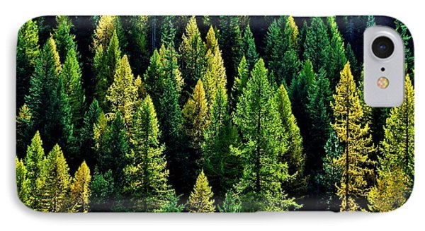 IPhone Case featuring the photograph Pacific Northwest Autumn by Benjamin Yeager