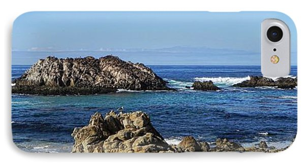 Pacific Ocean Panoramic IPhone Case by Kathy Churchman