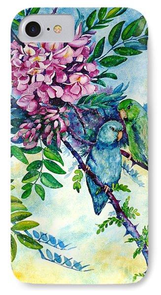 Pacific Parrotlets IPhone Case
