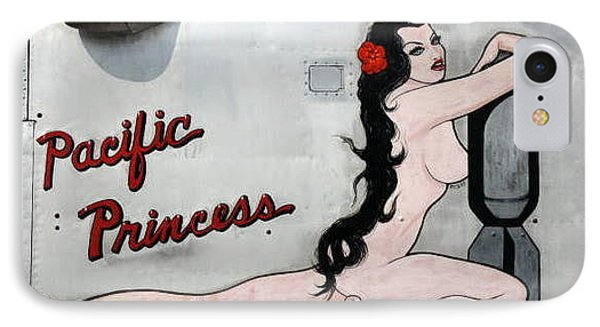 Pacific Princess IPhone Case by Kathy Barney