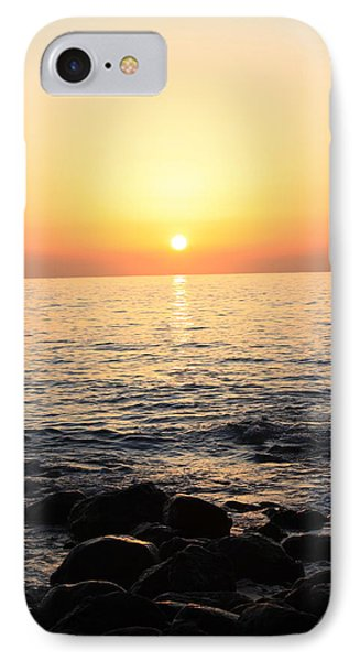 Pacific Sunrise Phone Case by Ashley Balkan