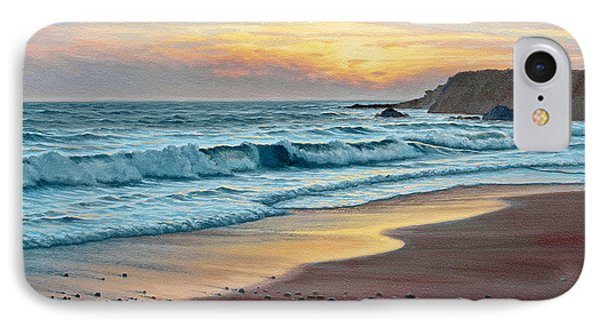 Pacific Sunset Phone Case by Paul Krapf