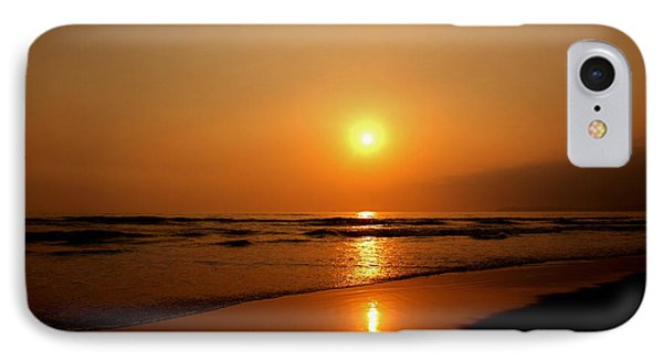 Pacific Sunset Reflection IPhone Case by Debby Pueschel