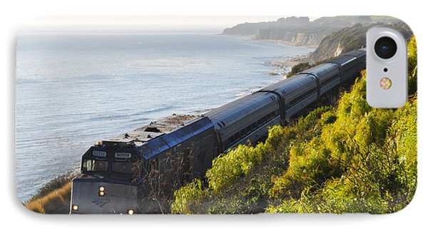Pacific Surfliner Along The Central Coast IPhone Case
