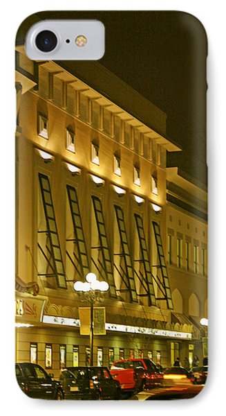 Pacific Theatres In San Diego At Night Phone Case by Ben and Raisa Gertsberg