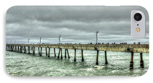 Pacifica Municipal Fishing Pier 7 IPhone Case