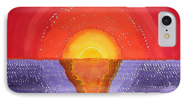 Pacifica Original Painting Phone Case by Sol Luckman
