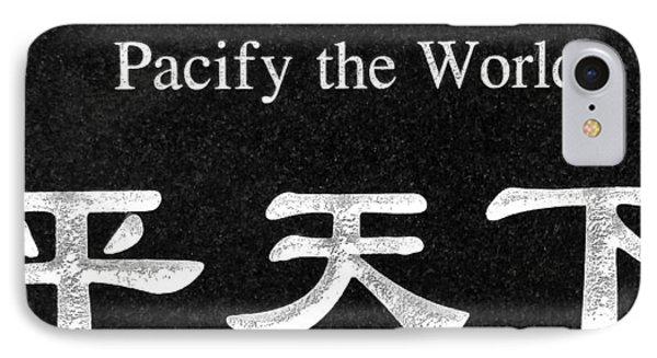Pacify The World Phone Case by Karon Melillo DeVega