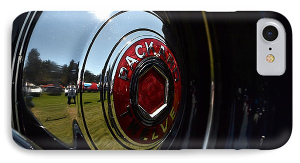 IPhone Case featuring the photograph Packard - 2 by Dean Ferreira