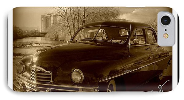 Packard Classic At Truckee River IPhone Case by Bobbee Rickard