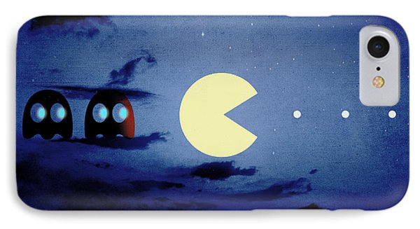 Pacman Night-scape IPhone Case