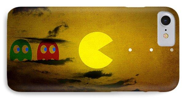 Pacman-scape IPhone Case