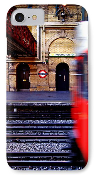 Paddington Station Tube IPhone Case