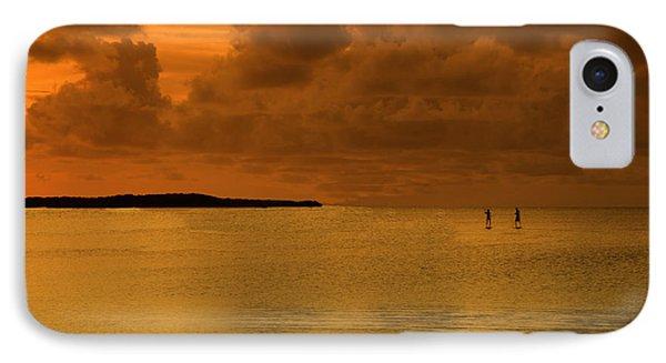 Paddleboarding Phone Case by Bruce Bain